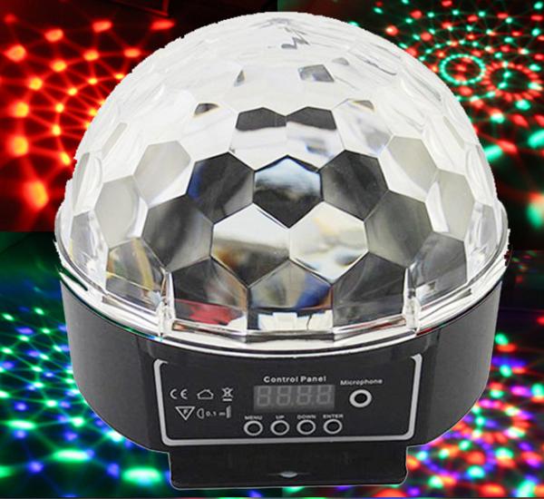 KTV灯光设备 LED水晶魔球灯带数字